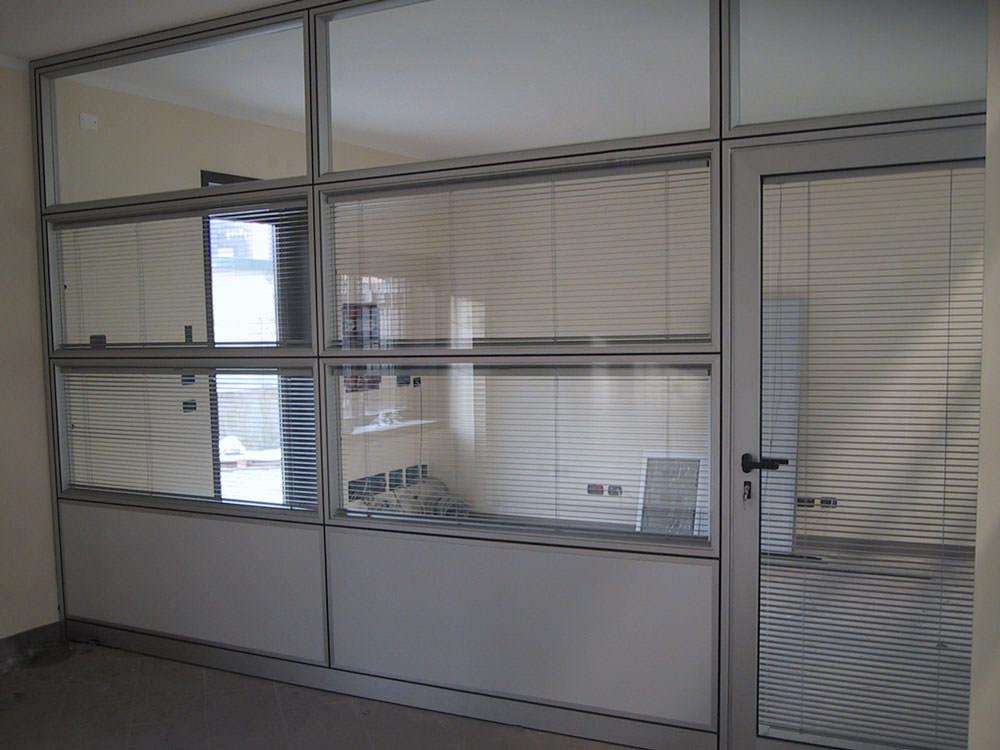 Pareti mobili in alluminio per abitazioni e uffici brescia by tecno pref - Pareti divisorie mobili per abitazioni ...