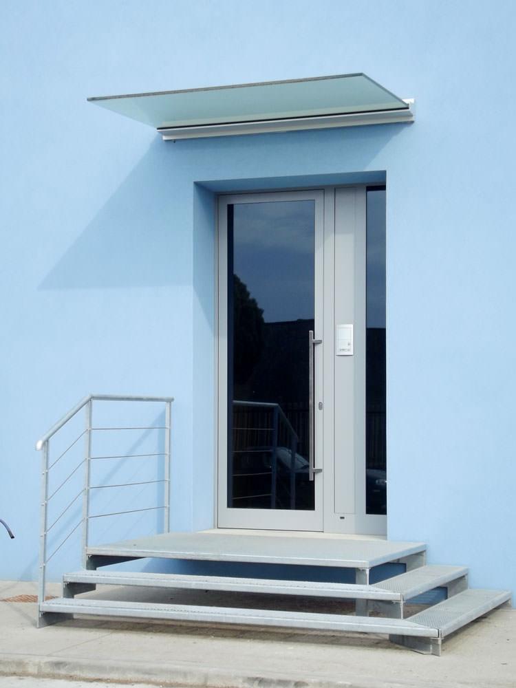 Realizzazione pensiline e tettoie brescia e provincia - Pensiline ingresso casa ...